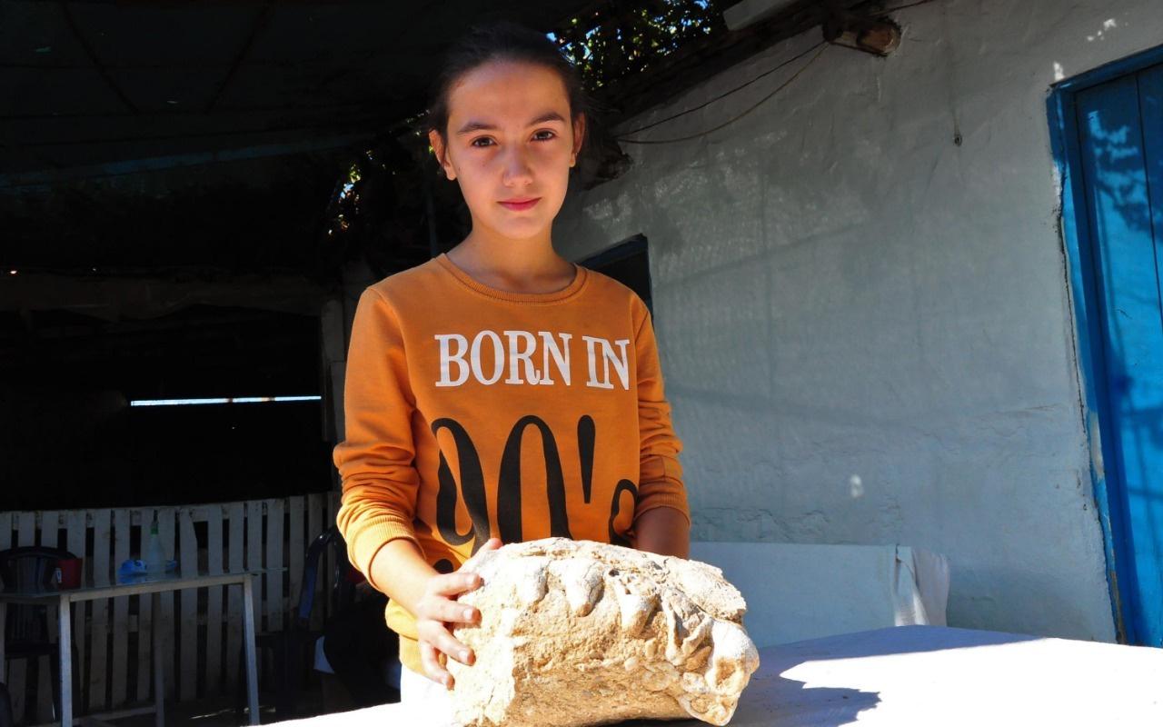 10 yaşındaki kız tesadüfen buldu! Meğer milyonlarca yıllık...