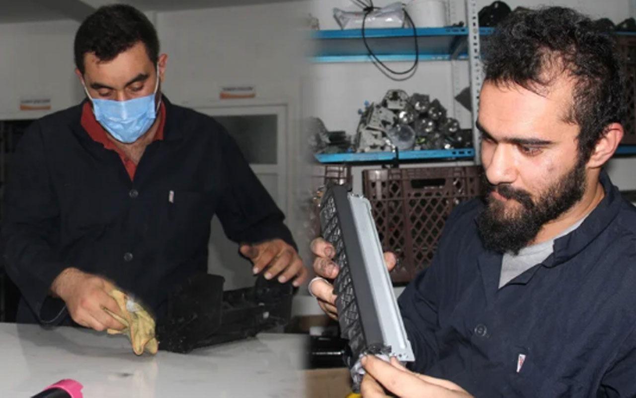 2500 lira daha ucuza üretti! Fabrika sahibi oldu 12 kişiye de istihdam sağladı